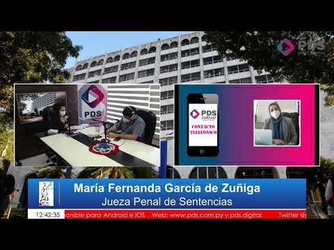Entrevista- María Fernanda García de Zuñiga- Jueza Penal de Sentencias