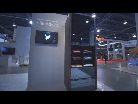 connectYoutube - Laundroid laundry-folding robot