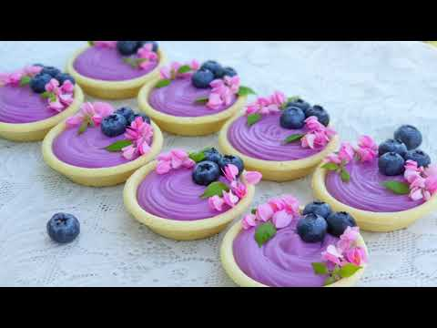 Blueberry-Cheese-Tart-ทาร์ตบลู