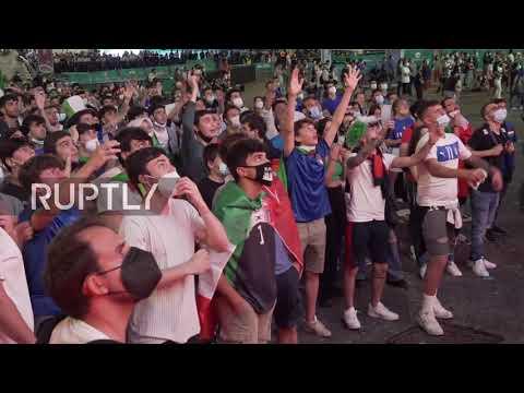 Italy: Italian fans ecstatic as squad defeats Turkey 3-0 in Euro 2020 opener in Rome