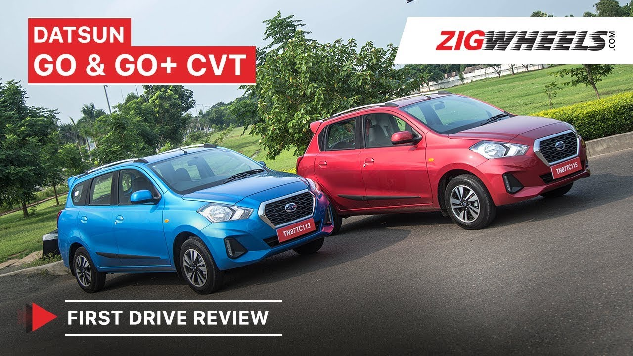 Datsun GO, GO+ CVT (Automatic) | First Drive Review | ZigWheels.com