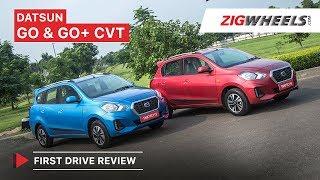 ಡಟ್ಸನ್ ಗೋ, go+ ಸಿವಿಟಿ (automatic) | ಪ್ರಥಮ drive ವಿಮರ್ಶೆ | zigwheels.com