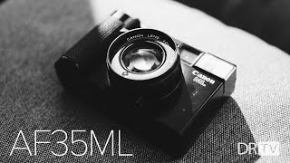 AnalogRev: f/1.9 Fastest Film Compact (Canon AF35ML)