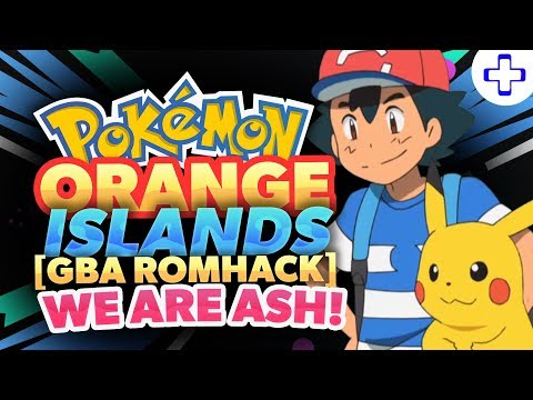 connectYoutube - POKEMON ORANGE ISLANDS GBA ROM HACK! - WE ARE ASH IN THIS GAME!! (2018)