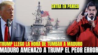 NICOLAS MADURO NO SE ESPERABA ESTA NOTICIA DONALD TRUMP LISTA LA AYUDA PARA VENEZUELA JUAN GUAIDO