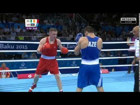 #Team Ireland Michael O'Reilly Boxing Baku 2015