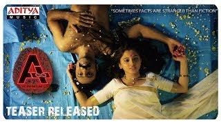 A (AD INFINITUM) Movie Teaser | Nithin Prasanna, Preethi Asrani | Ugandhar Muni - ADITYAMUSIC