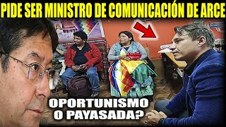 Oportunismo total!! Tras perder Elecciones Pedro García pide ser Ministro de Comunicación
