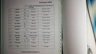 Progol y progol revancha #2029