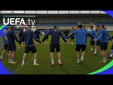 UEFA Youth League skills challenge: Lokomotiva Zagreb