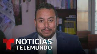 Seguidor latino de Trump confía en su regreso   Noticias Telemundo