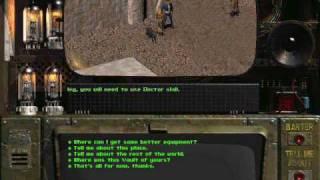 Fallout 1 Walkthrough Part 2 - Talking Heads