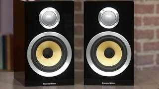 The Bowers and Wilkins CM1 speakers look great