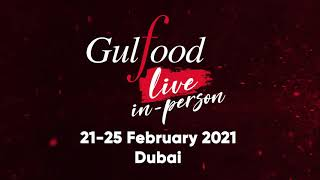 Gulfood 2021, Live in Dubai: Witness the safest & most competitive global F&B sourcing event