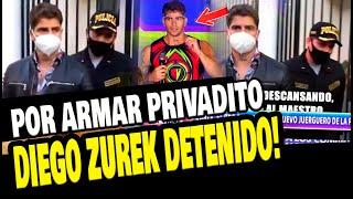 DIEGO ZUREK FUE INTERVENIDO NUEVAMENTE POR LA POLICIA TRAS FIESTA EN SU CASA