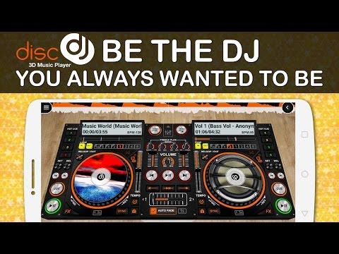 DiscDj 3D Music Player - 3D Dj Music Mixer Studio v4 007s