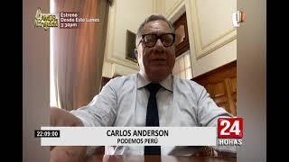 Congresistas electos rechazan pedido de Jorge Montoya de convocar nuevas elecciones