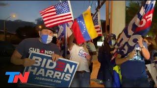 Los venezolanos que viven en Miami festejaron la protección de Biden por la implementación del TPS