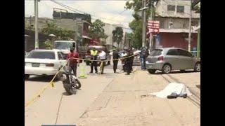 Presunto pandillero asesinado en ataque armado en zona 7 de Mixco