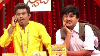 Jabardasth Rocket Raghava Performance - Allari Pidugu Hilarious Comedy Skit - MALLEMALATV