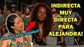 Cyntia le envía una indirecta a Alejandra - Survivor México 2021