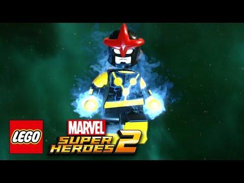 LEGO Marvel Super Heroes 2 - Nova Free Roam Gameplay Showcase