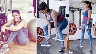 Samantha Latest Heavy Weights Gym Workouts | Samantha latest Videos - RAJSHRITELUGU