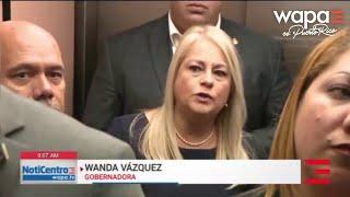 Wanda Vázquez destaca que su prioridad es la seguridad del pueblo