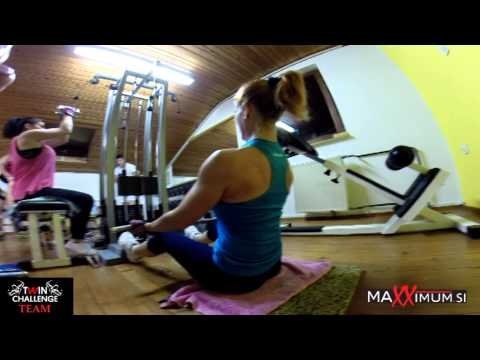 MaXXimum & Twin Challenge Team Eva & Dragica Kotnik Workout