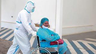 Periodista Salvador Castellanos agradece labor de personal de salud
