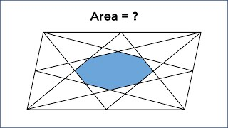 HARD 8th Grade Geometry Problem From Russia: The Octagon In The Parallelogram