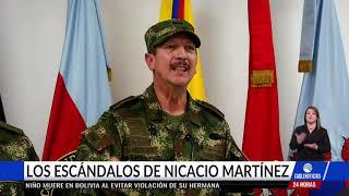 Estos son los escándalos que envolvieron al saliente comandante del Ejército, Nicacio Martínez