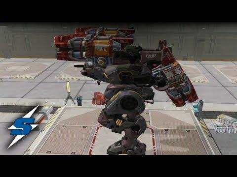 NUEVA ARMA VORTEX y botón RECARGA | SORILOKO War Robots