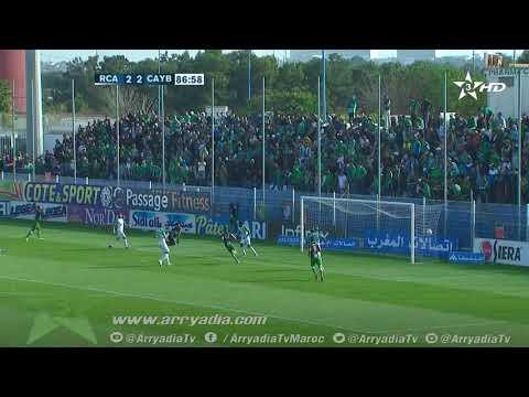 الرجاء البيضاوي 2-3 يوسفية برشيد هدف عبد الفتاح ايت أحمد