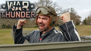 AngryJoe Drives a Tank! - [War Thunder Event]