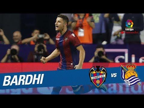 Golazo de Bardhi (3-0) Levante UD vs Real Sociedad