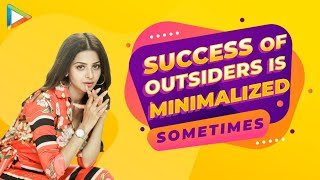 "Vedhika Kumar: ""Being an OUTSIDER it's very TOUGH to get opportunities but..."" - HUNGAMA"