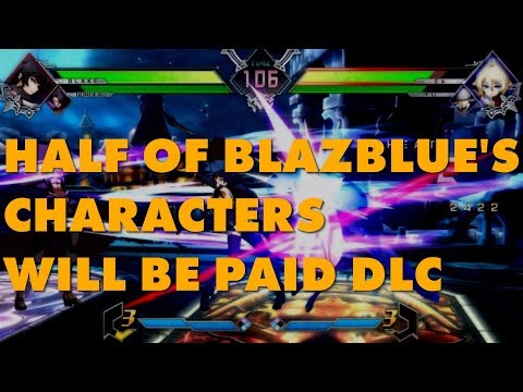 connectYoutube - Blazblue: Cross Tag Battle Selling 50% Of Its Roster As DLC