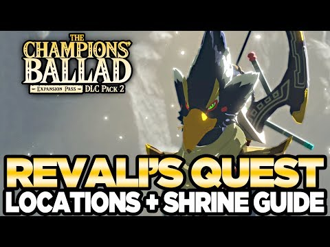 connectYoutube - Revali's Song - Locations & Shrine Guide The Champions Ballad Breath of the Wild | Austin John Plays