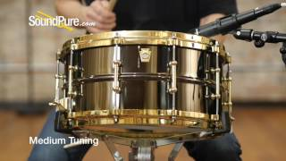 Ludwig 6.5x14 Black Beauty Snare Drum - Tube Lugs / Brass, Quick n' Dirty
