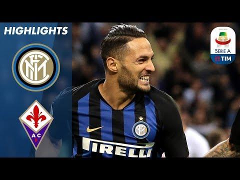 أهداف مباراة انتر ميلانو وفيرونتينا 2-1 - البطولة الايطالية -