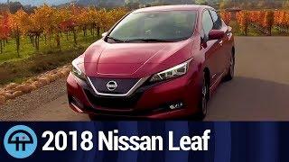 2018 Nissan Leaf First Look - All-Electric Car