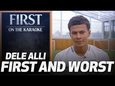FIRST AND WORST: Dele Alli