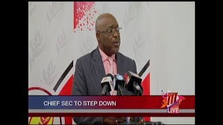 Kelvin Charles To Step Down As THA Chief Secretary In April