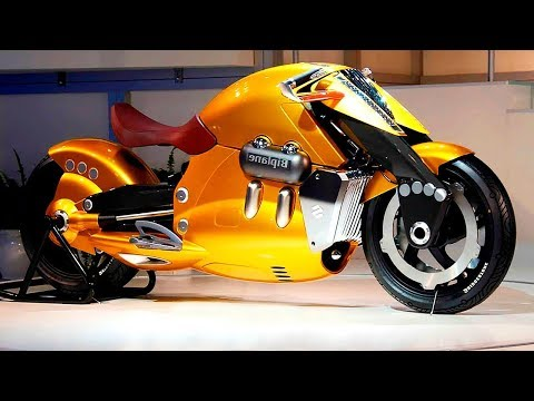 10 MOST INSANE MOTORCYCLES IN THE WORLD