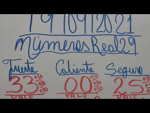 NUMEROS PARA HOY 19/09/2021 DE SEPTIEMBRE PARA TODAS LAS LOTERIAS