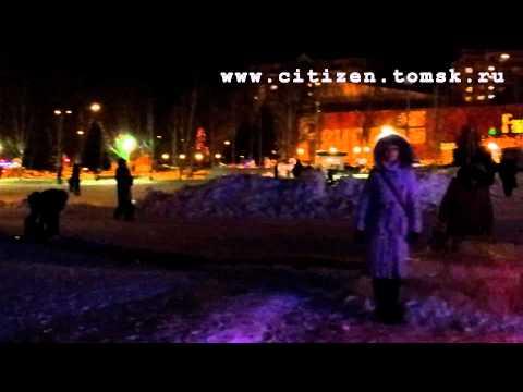 Ледяной городок в Томске / 2