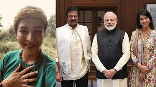 Lakshmi Manchu Birthday Wishes To Narendra Modi | Actress Lakshmi Manchu About Modi | TFPC - TFPC