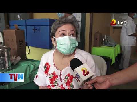 Continúa proceso de vacunación ágil, ordenado y esmerado en Managua