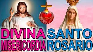 Coronilla a la Divina Misericordia y Santo Rosario de hoy Domingo 11 de Abril Misterios Dolorosos